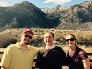 RSP assistant editor Thomas Coleman, APA Div. 36 President Dr. Kevin Ladd, and Post-Doctoral Research Fellow Dr. Melanie Nyhof