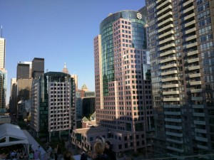 Downtown Toronto, APA Convention. Photo by Alex Uzdavines.