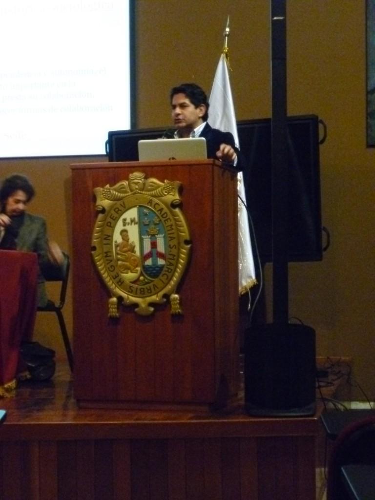 Lawyer, Marco Huaco. Photo by Alondra Oviedo.